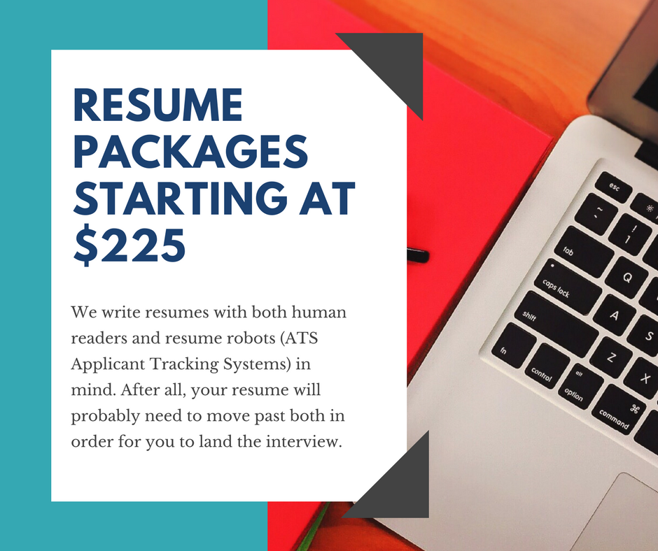 Resume Packages start at $225