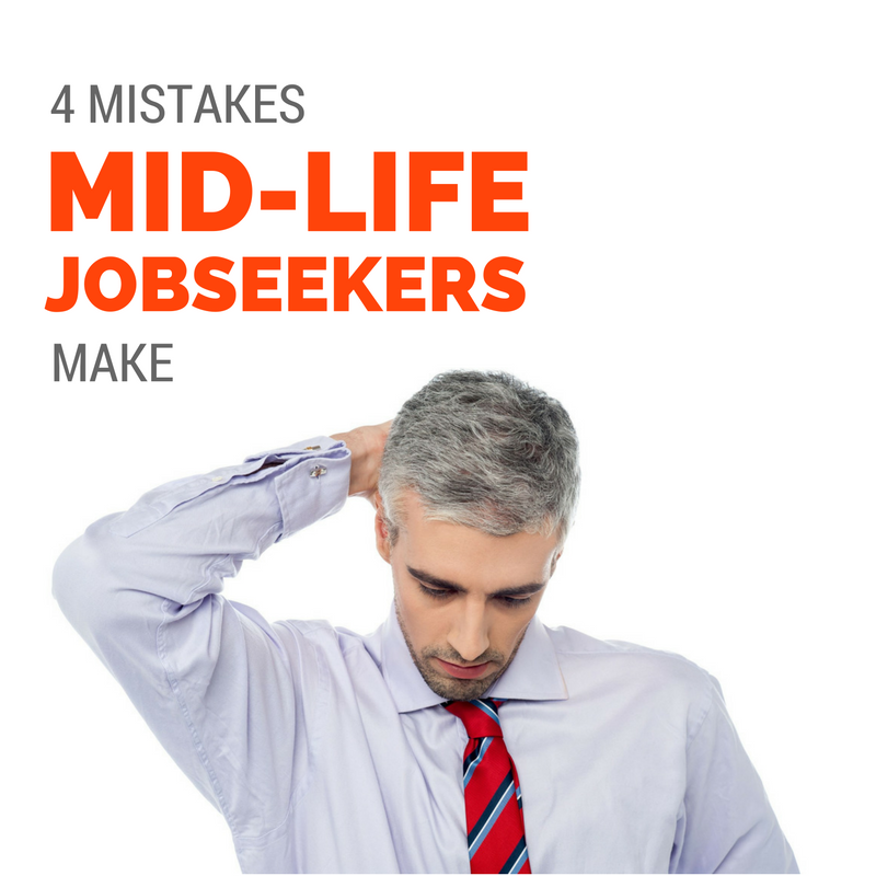 4 Mistakes MidLife Job Seekers Make